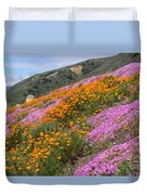 Big Sur Spring Duvet Cover