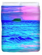 Big Sur Sunset Duvet Cover