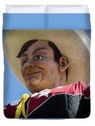 Big Tex - Oil Duvet Cover