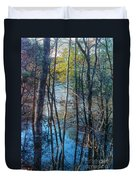 Big Thicket Water Reflection Duvet Cover