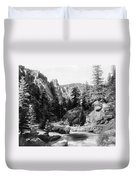 Big Thompson Canyon Duvet Cover