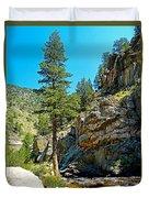 Big Thompson Canyon Pre Flood Moment 2 Duvet Cover