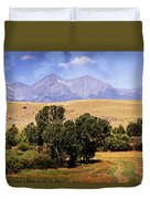Big Timber Canyon 2 Duvet Cover