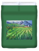 Big Valley Farm Duvet Cover