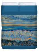 Big Wave After Storm Duvet Cover