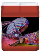 Big Wheel Duvet Cover