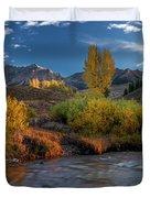 Big Wood River Color Duvet Cover