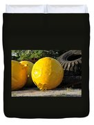 Big Yellow Balls Duvet Cover