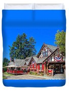 Bigfork Inn Duvet Cover