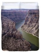 Bighorn Canyon Duvet Cover