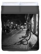 Bike Between Lights And Shadows, Netherlands Duvet Cover