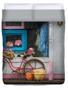 Bike - Lulu's Bike Duvet Cover