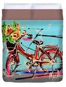 bike of Amsterdam series 2018 no.2 Duvet Cover
