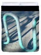 Bike Rack Duvet Cover