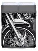 bike Riders  Duvet Cover