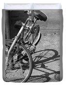 Bike Shadow Duvet Cover
