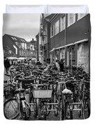 Bikes Of Skagen Duvet Cover