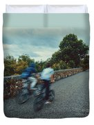 Bikes On The Deise Greenway 2 Duvet Cover