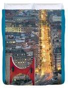 Bilbao Street Duvet Cover