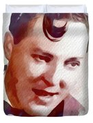 Bill Haley, Music Legend Duvet Cover