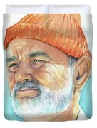 Bill Murray Steve Zissou Life Aquatic Duvet Cover