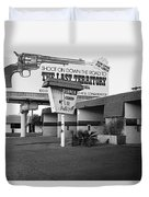Billboard The Last Territory Tucson Arizona 1987 Duvet Cover