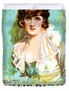 Billie Burke In The Misleading Widow 1919 Duvet Cover