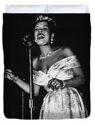 Billie Holiday Duvet Cover by American School