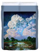 Billowing Clouds Duvet Cover