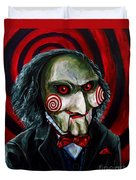 Billy The Puppet Duvet Cover