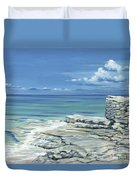 Bimini Blues Duvet Cover