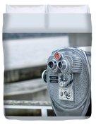 Binoculars  Duvet Cover