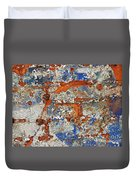 Biography Of A Wall 17 Duvet Cover