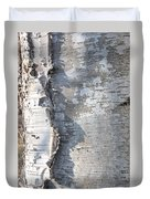 Birch Abstract 2 Duvet Cover