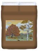 Birch And Oak Frienship Duvet Cover