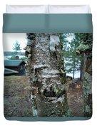 Birch Bark 3 Duvet Cover