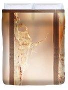 Birch Peel Tryptich Duvet Cover