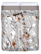 Frost Birch  Duvet Cover