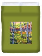Birches 01 Duvet Cover