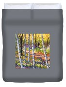 Birches 02 Duvet Cover