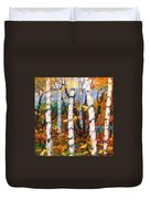 Birches 03 Duvet Cover