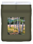 Birches 04 Duvet Cover