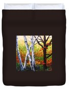 Birches 05 Duvet Cover