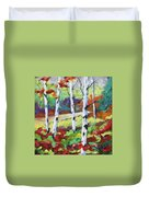 Birches 07 Duvet Cover