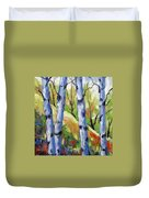 Birches 09 Duvet Cover
