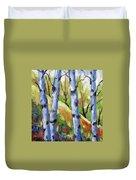 Birches 09 Duvet Cover