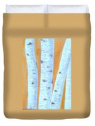 Birches #3 Duvet Cover