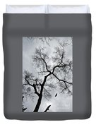 Bird And Tree Duvet Cover