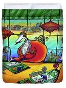 Bird Artists Duvet Cover
