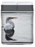 Bird Bath 4619 Duvet Cover